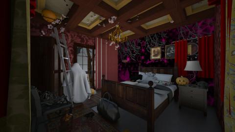Halloween time - Bedroom - by Sejal Jain