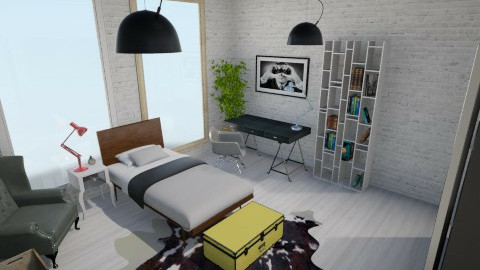 bedroom - by aleksandarmaric999