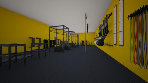 Black gym - by rogue_ef8954529d15ce0e82969ddde3b17