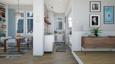Urban Apartment - Kitchen - by LizyD