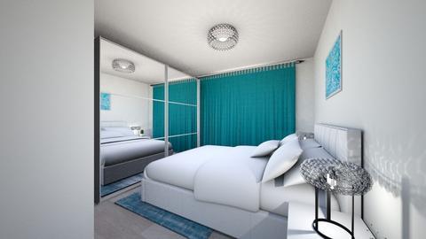 lighty bedroom - Modern - Bedroom - by Popa Bianca Rozalia