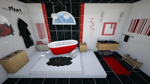 Chill Bathroom - Bathroom - by KrisTina94
