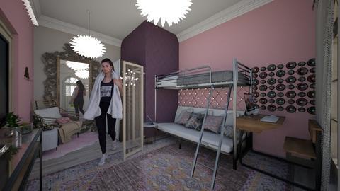 Boho Teen Room - Rustic - Bedroom - by emmysnack