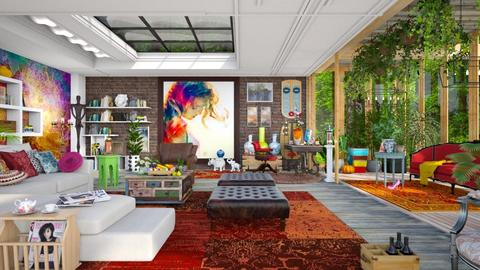 maxi living room  - Eclectic - Living room - by Ida Dzanovic