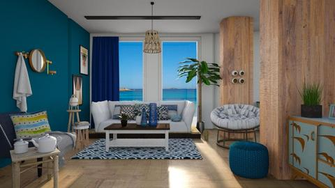 By the sea - Living room - by seth96