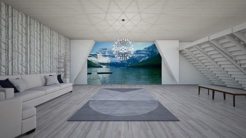 if - Modern - Living room - by ham_n_lid