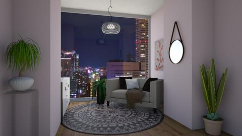 City Living - Feminine - Living room - by no_one_important