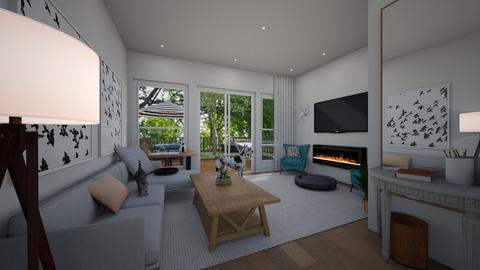 Garden template - Living room - by racheycakes38