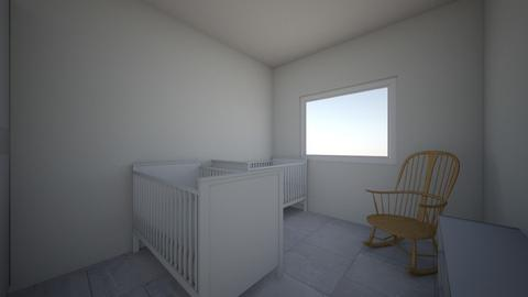 twins baby - Kids room - by andykz