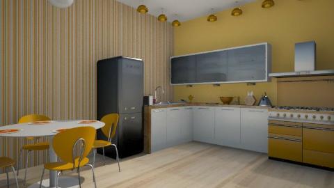 Orange soda - Kitchen - by lika2001