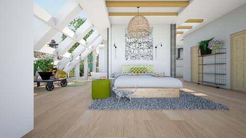 fresh bedroom 5 - Modern - Bedroom - by nikolaiR6971