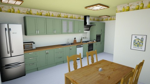 Simple kitchen - Classic - Kitchen - by Psweets