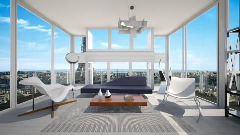 Paris - Minimal - Living room - by Lucii