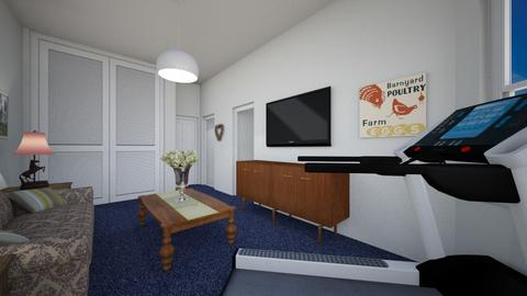 344 Clinton Street 3B 3 - Living room - by SammyJPili