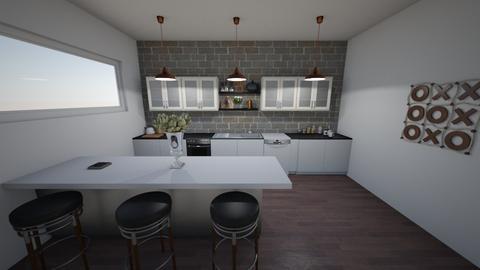 Coastal Kitchen - Modern - Kitchen - by absarecool