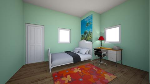 Summer Fall Kid Bedroom 1 - Modern - Kids room - by PiggyLover316
