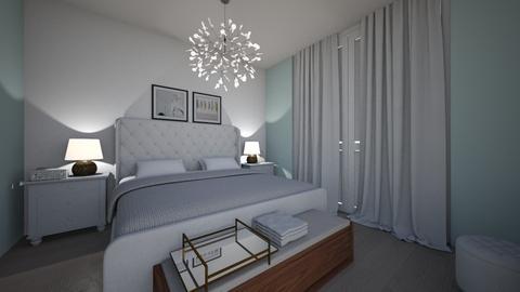 bedroom modern - Modern - Bedroom - by ilse_roman25