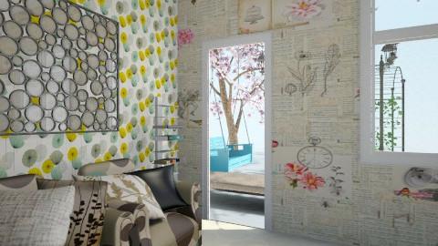 book style room - by jorangeey