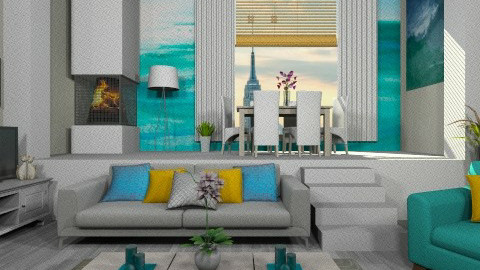 Ziggy - Modern - Living room - by deleted_1566988695_Saharasaraharas