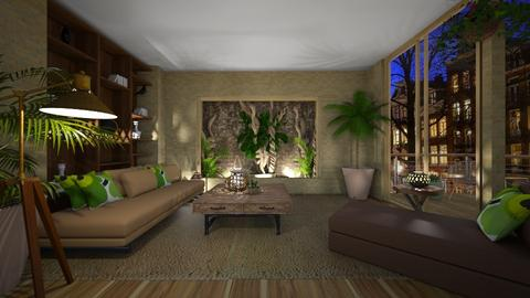 Garden - Living room - by nanabpf