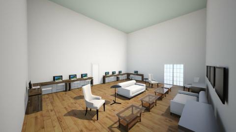 AV Team Office 1 - Minimal - Office - by IshamJake