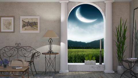 Moonlight - Classic - Living room - by Sally Simpson