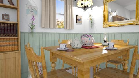 M_ C - Vintage - Dining room - by milyca8