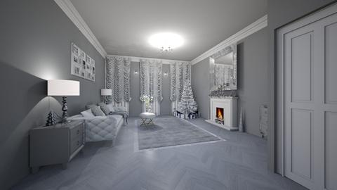 Template room - Living room - by creato