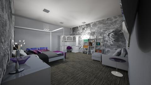Fun bedroom - Bedroom - by SmithMimster