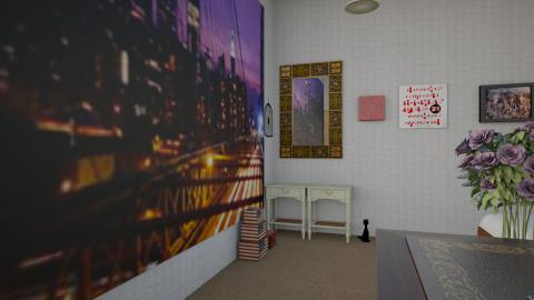 Teenroom - Bedroom - by Felizia
