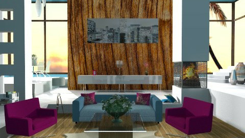 modern house - Modern - Living room - by Cejovic Andrijana