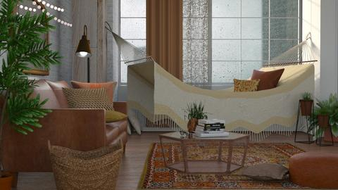BOHO - Living room - by Kelli Mallory