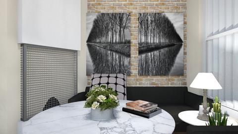 black n white  - Minimal - by alina02