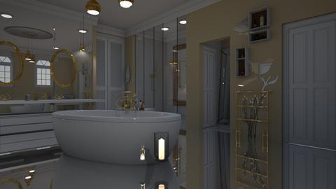 bathroom - by antoniab