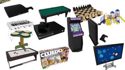 my favorite games - by Maria Jose y alex