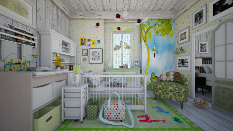 eclectic baby_room  - Eclectic - Kids room - by Ida Dzanovic