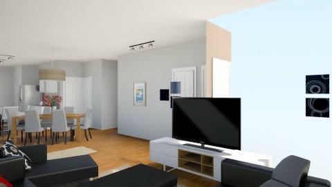 Notre maison 20155 - Modern - Kitchen - by Yellow Moon Design