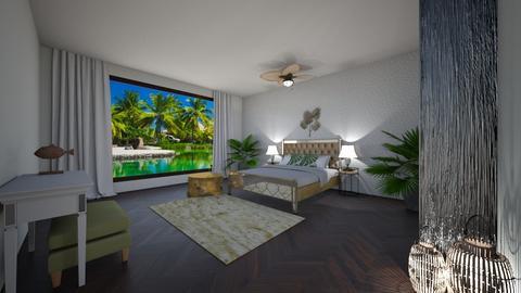 Tropics - Bedroom - by lionhuntress29