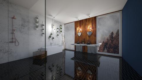 darkbathroom - by izzymondo