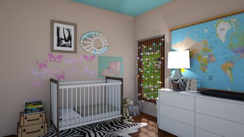 nursery - Kids room - by rosej