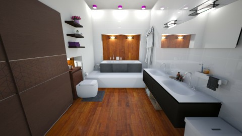 Bathroom1 - Modern - Bathroom - by kashanka