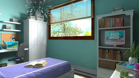 For Poynter - Eclectic - Bedroom - by Theadora
