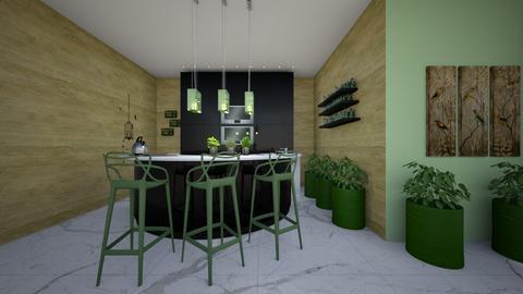 Urban green - Kitchen - by Marta Perkowska