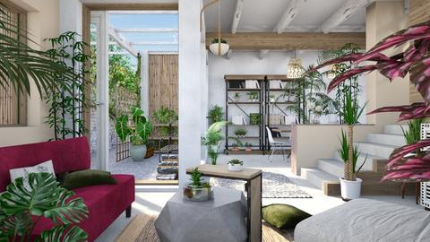 Urban Jungle - Eclectic - Living room - by evahassing