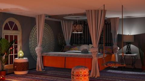 bohemian - Modern - Bedroom - by Sue Bonstra
