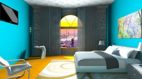 camera da letto  - Rustic - Bedroom - by duilio 34