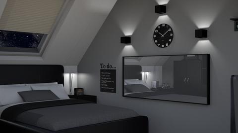 Budget bedroom - Modern - Bedroom - by kazakov_sh