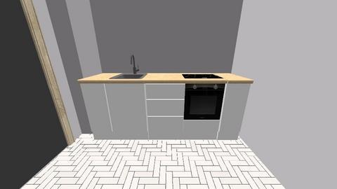szigony projekt konyha - Kitchen - by Monika Kispal