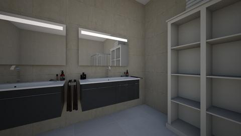 Haileys master bathroom - Bathroom - by penguinlover35