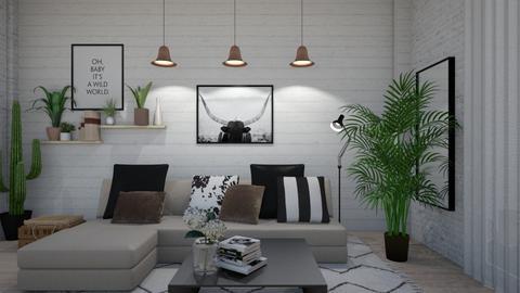 1019 4 - Living room - by Riki Bahar Elbaz